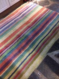 Candy stripe rug