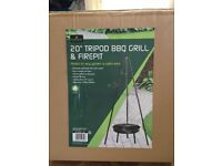 BBQ and fire pit brand new in box