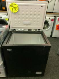 BUSH 145L CHEST FREEZER IN BLACK