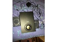 Creative speakers and bass