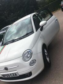 @@FIAT 500 SPORT 2009 Immaculate JUST MOTD DRIVES GREAT AIR CON CD ONLY £2160