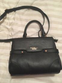 Black fiorelli handbag and blue purse