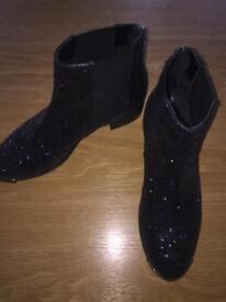 Kurt Geiger Sparkly Boots Size 6