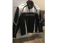 Ikon large black and white jacket
