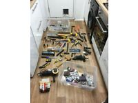 Job lot of hand tools and power tools