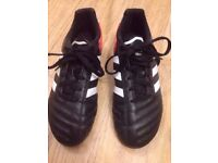 Adidas kids football boots size 2.5