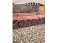 Red Marley roof tiles 175 brand new