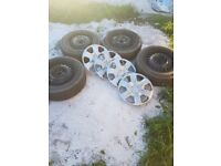 steel wheels with good tires