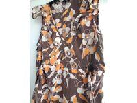 Top Shop retro maternity silk dress size 12