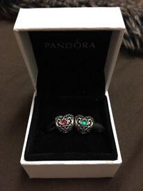 Pandora birthstone charms- May & July