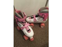 Adjustable roller skates size 3-6 excellent condition