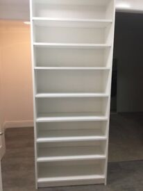 £20 EACH 2 x IKEA BILLY BOOKCASES. Perfect condition. No scratches, less than a year old.