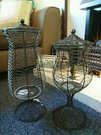 Candle holders *sold subject to collection*