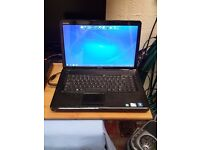 dell windows 7 laptop with charger