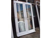 1380 x 2100 UPVC French Doors (USED)
