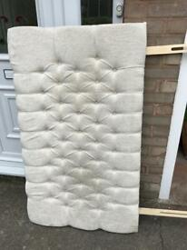 Chesterfield double headboard