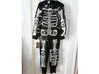 Halloween Skeleton Large costume