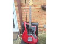 Fender Modern Player Jazzmaster HH (Crimson Red Transparent)