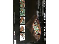 50cm x 30cm solid high quality table football set brand new