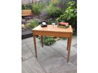 Vintage desk table old character 1950's
