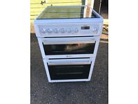 HOTPOINT DUAL FUEL COOKER