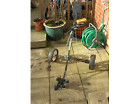 Golf Trolly 2 wheel Trolley Master grab a bargain£8.00