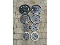 100kg Bodypower cast iron Olympic weight set