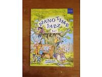 Piano time jazz book