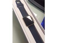 Brand New Apple Watch (series 1) 42mm Gold/Blue Sport for sale