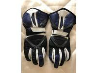 Motorcycle gloves leather size Xs mens