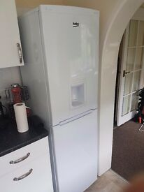 Becko cxfd825w fridge freezer with water dispenser