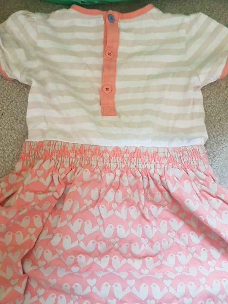 Mama's & Papa's Dress / Top & Skirt bundle age 18m -24m