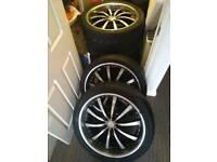 Alloy wheels 5 x130 22 inch