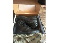 Magnum patrol boots brand new. Cost £75