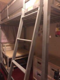 Bunk Bed, Computer Desk & Set of Draws
