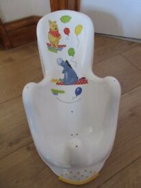 WINNIE THE POOH BABY BATH SUPPORT for newborns - IMMACULATE & cheap!