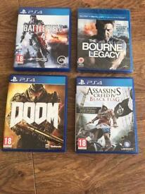 PlayStation 4 bundle and brand new DVD
