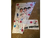One Direction (Character World) One Direction Single Duvet Cover & Matching Pillowcase.