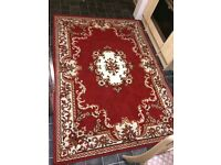 Patterned red rug 160 / 230 cm Southend