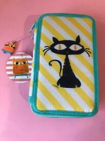Filled pencil case brand new