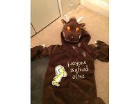 Gruffalo fancy dress onesie costume size 3-4 years