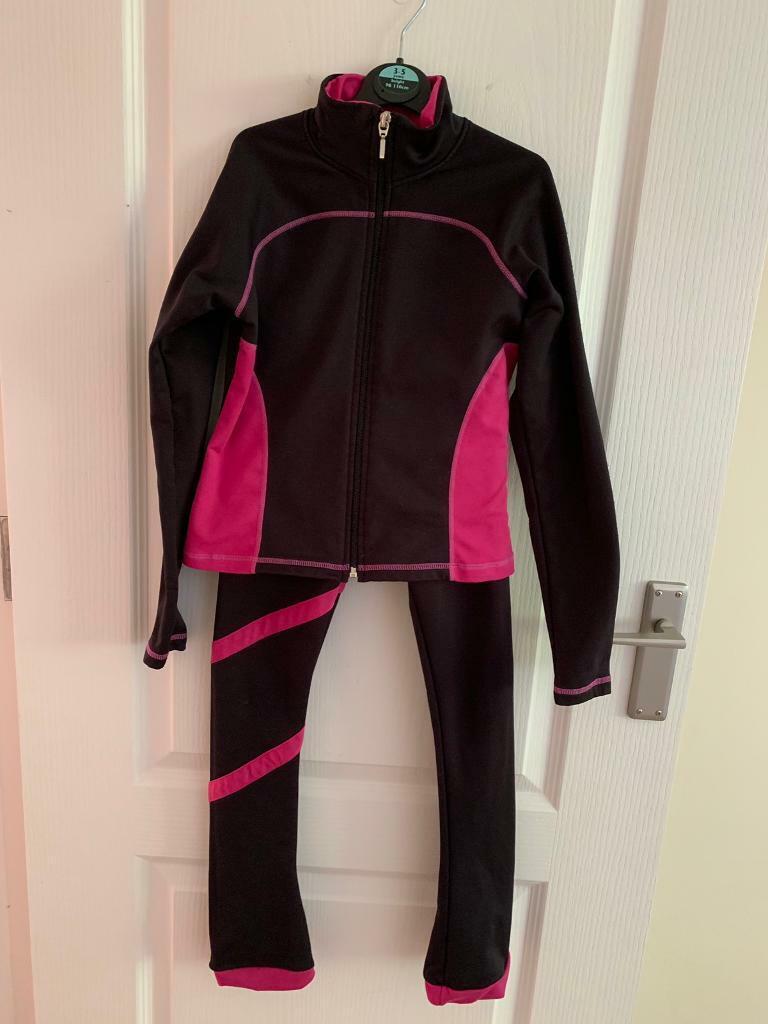 2634087dd8065 Chloe Noel Ice skating leggings (size CXS) and jacket (size CS) | in ...