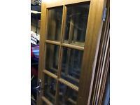 3 pairs of Quality internal glazed doors