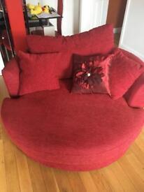 Snuggle Chairs x 2