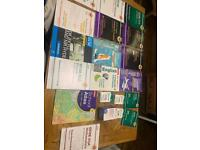 GSCE clean UNUSED JOB LOTS + revision cards