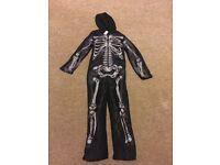 Children's skeleton onesie. Aged 9-10