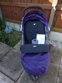 Joie Litetrax Stroller, pram/buggy/stroller, suitable from birth, good condition. £20
