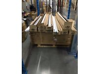 100 no used T8 fluorescent tubes 1500mm/5 foot with starters variety of brands all 58W