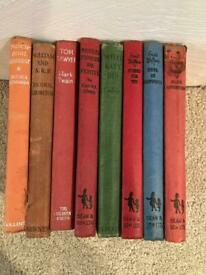 Various vintage books