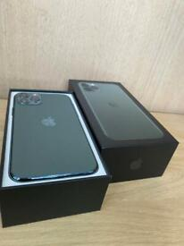 iPhone 11 Pro 64GB Midnight Green, Apple warranty till 25th February. Comes with Box, Charger.